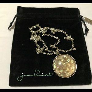 Jewelmint Fashion Jewelry - Silver Galaxy Gemstone